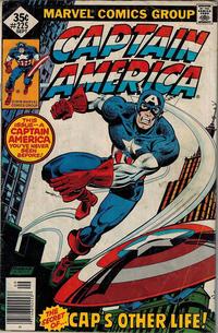 Cover Thumbnail for Captain America (Marvel, 1968 series) #225 [Whitman]