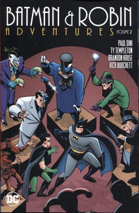 Cover Thumbnail for Batman and Robin Adventures (DC, 2016 series) #2