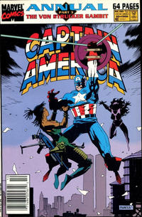 Cover Thumbnail for Captain America Annual (Marvel, 1971 series) #10 [Newsstand]