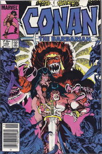 Cover Thumbnail for Conan the Barbarian (Marvel, 1970 series) #152 [Canadian]