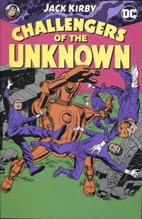 Cover Thumbnail for Challengers of the Unknown by Jack Kirby (DC, 2017 series)