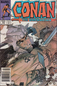 Cover Thumbnail for Conan the Barbarian (Marvel, 1970 series) #167 [Newsstand]