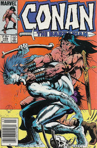 Cover Thumbnail for Conan the Barbarian (Marvel, 1970 series) #168 [Canadian]