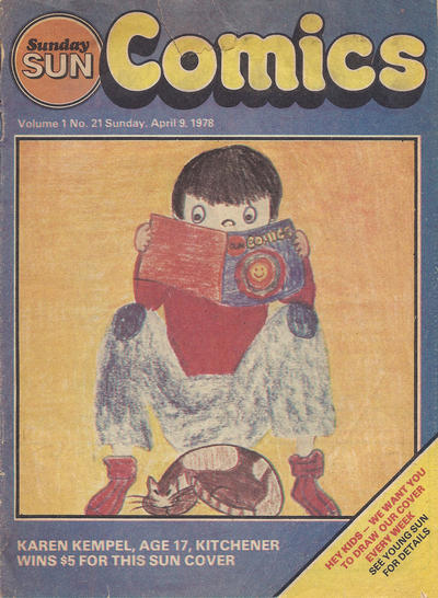 Cover for Sunday Sun Comics (Toronto Sun, 1977 series) #v1#21