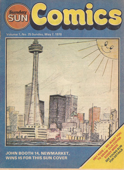Cover for Sunday Sun Comics (Toronto Sun, 1977 series) #v1#25