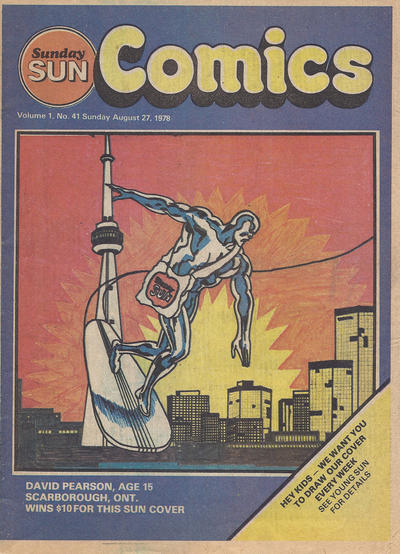 Cover for Sunday Sun Comics (Toronto Sun, 1977 series) #v1#41