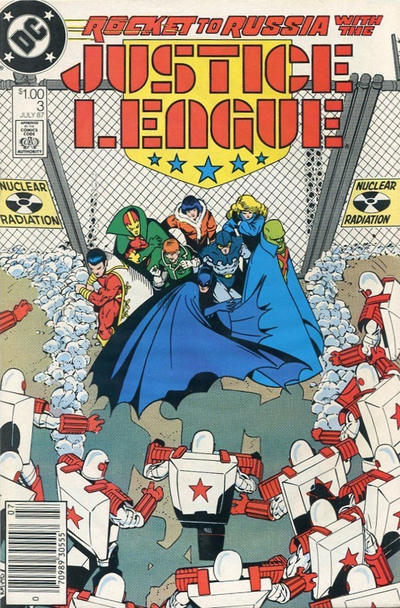 Cover for Justice League (DC, 1987 series) #3 [Canadian]