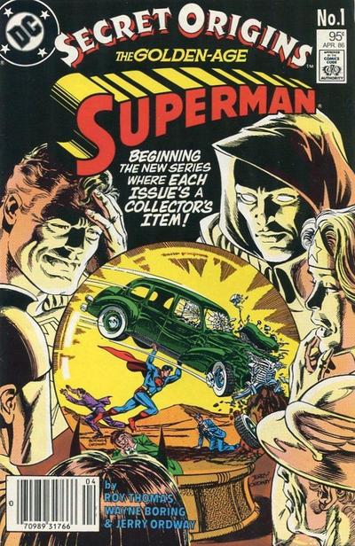 Cover for Secret Origins (DC, 1986 series) #1 [Newsstand]