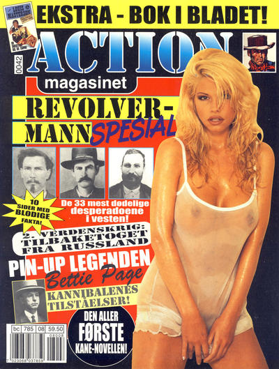 Cover for Action magasinet (Bladkompaniet / Schibsted, 1999 series) #8/2000