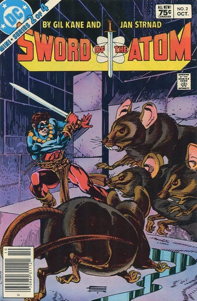 Cover for Sword of the Atom (DC, 1983 series) #2 [Newsstand]