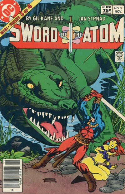 Cover for Sword of the Atom (DC, 1983 series) #3 [Direct]