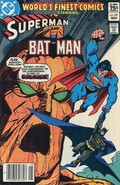 Cover for World's Finest Comics (DC, 1941 series) #291 [Newsstand]