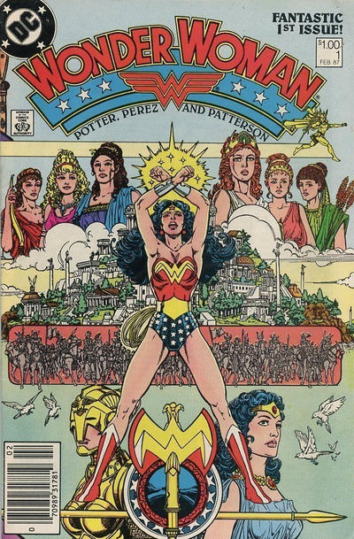 Cover for Wonder Woman (DC, 1987 series) #1 [Direct]