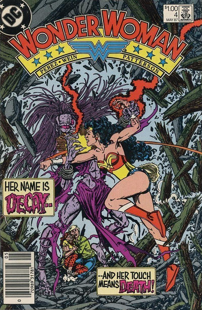 Cover for Wonder Woman (DC, 1987 series) #4 [Direct]