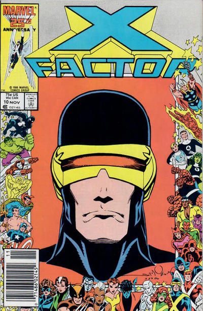 Cover for X-Factor (Marvel, 1986 series) #10 [Direct]