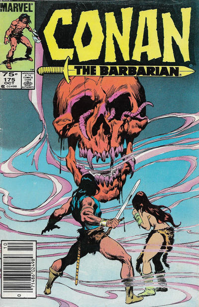 Cover for Conan the Barbarian (Marvel, 1970 series) #175 [Canadian]