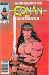 Cover Thumbnail for Conan the Destroyer (1985 series) #1 [Newsstand Edition]