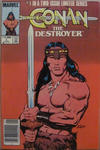 Cover Thumbnail for Conan the Destroyer (1985 series) #1 [Canadian Newsstand Edition]