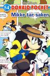 Cover for Donald Pocket (Hjemmet / Egmont, 1968 series) #54 - Mikke tar saken [3. utgave bc 0239 025]