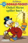Cover Thumbnail for Donald Pocket (1968 series) #59 - Onkel Skrue spiller høyt [4. utgave bc 0239 025]