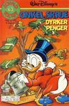 Cover for Donald Pocket (Hjemmet / Egmont, 1968 series) #63 - Onkel Skrue dyrker penger [3. utgave bc 390 15]