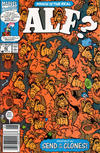 Cover for ALF (Marvel, 1988 series) #42 [Newsstand Edition]