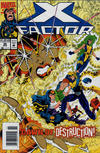Cover Thumbnail for X-Factor (1986 series) #96 [Newsstand]
