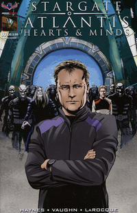 Cover Thumbnail for Stargate Atlantis Hearts And Minds (American Mythology Productions, 2017 series) #3 [Cover A Greg LaRocque]
