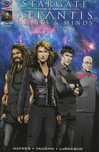 Cover Thumbnail for Stargate Atlantis Hearts And Minds (American Mythology Productions, 2017 series) #2 [Cover A Greg LaRocque]