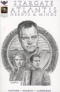 Cover Thumbnail for Stargate Atlantis Hearts And Minds (American Mythology Productions, 2017 series) #2 [Limited Visions Dan Parsons Cover]