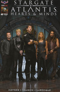 Cover Thumbnail for Stargate Atlantis Hearts And Minds (American Mythology Productions, 2017 series) #2 [Cover D Photo]
