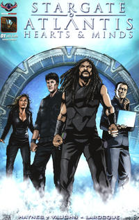 Cover Thumbnail for Stargate Atlantis Hearts And Minds (American Mythology Productions, 2017 series) #1 [Cover A Greg LaRocque]