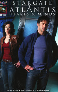 Cover Thumbnail for Stargate Atlantis Hearts And Minds (American Mythology Productions, 2017 series) #1 [Cover D Photo]