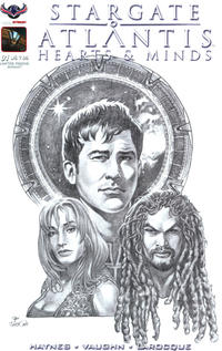 Cover Thumbnail for Stargate Atlantis Hearts And Minds (American Mythology Productions, 2017 series) #1 [Limited Visions Dan Parsons Cover]