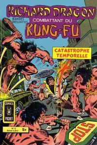 Cover Thumbnail for Richard Dragon Combattant du Kung-Fu (Arédit-Artima, 1976 series) #12