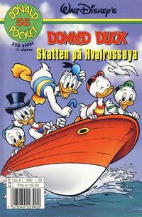 Cover Thumbnail for Donald Pocket (Hjemmet / Egmont, 1968 series) #56 - Donald Duck Skatten på Hvalrossøya [3. utgave bc-F 390 02]