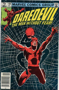 Cover Thumbnail for Daredevil (Marvel, 1964 series) #188 [Canadian]