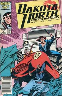 Cover Thumbnail for Dakota North (Marvel, 1986 series) #2 [Canadian]