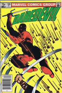 Cover Thumbnail for Daredevil (Marvel, 1964 series) #189 [Canadian]