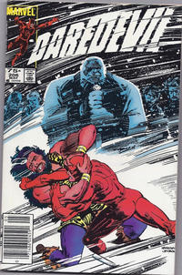 Cover Thumbnail for Daredevil (Marvel, 1964 series) #206 [Canadian]