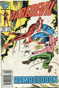 Cover Thumbnail for Daredevil (Marvel, 1964 series) #233 [Canadian]