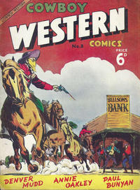 Cover Thumbnail for Cowboy Western Comics (L. Miller & Son, 1956 series) #3