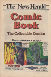 Cover Thumbnail for The News Herald Comic Book the Collectable Comics (Lake County News Herald, 1978 series) #v3#5