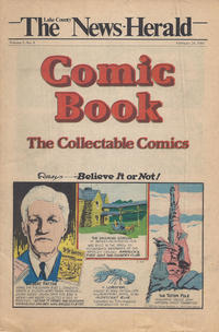 Cover Thumbnail for The News Herald Comic Book the Collectable Comics (Lake County News Herald, 1978 series) #v3#8