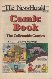 Cover Thumbnail for The News Herald Comic Book the Collectable Comics (Lake County News Herald, 1978 series) #v3#17