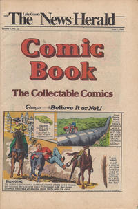 Cover Thumbnail for The News Herald Comic Book the Collectable Comics (Lake County News Herald, 1978 series) #v3#22