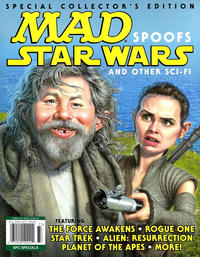 Cover Thumbnail for MAD Spoofs Star Wars and Other Sci-Fi (EC, 2017 series)