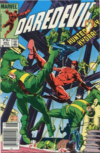 Cover Thumbnail for Daredevil (Marvel, 1964 series) #207 [Canadian]