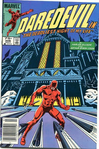 Cover Thumbnail for Daredevil (Marvel, 1964 series) #208 [Canadian]