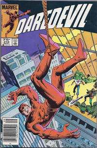 Cover Thumbnail for Daredevil (Marvel, 1964 series) #210 [Canadian]